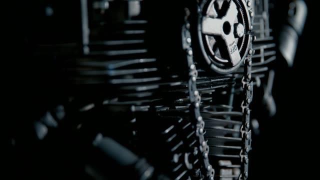 maskin del - chain studio bildbanksvideor och videomaterial från bakom kulisserna