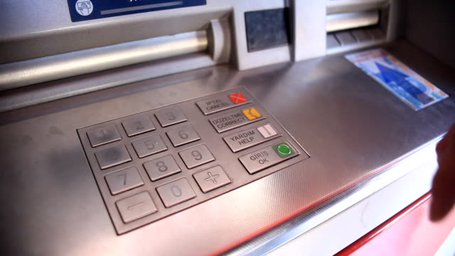ATM machine video