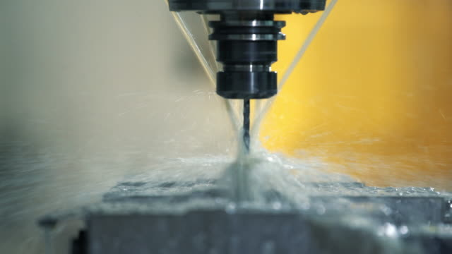 CNC machine. video