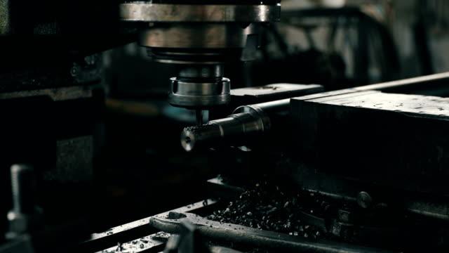 Machine working 4K video