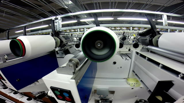 Machines for Synthetic Fiber Production video