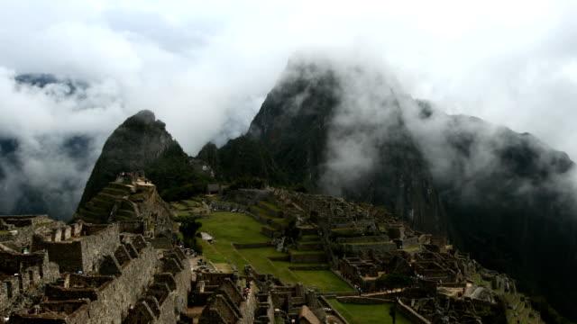 Machu Picchu in the Clouds video