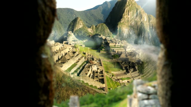 Machu Picchu - View From Inside The Temple