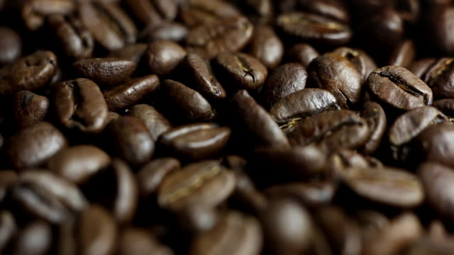Macro Coffee Fly over video