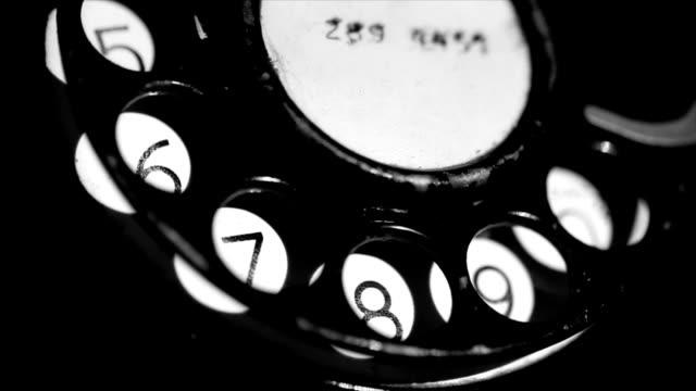 telefono vecchio macro di composizione - antico vecchio stile video stock e b–roll