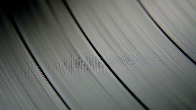 Macro Grooves On A Vinyl Disc video