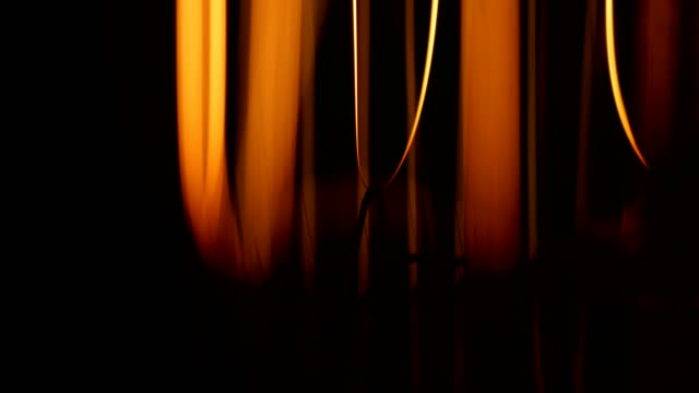 Macro light bulb filament Macro light bulb filament wound stock videos & royalty-free footage