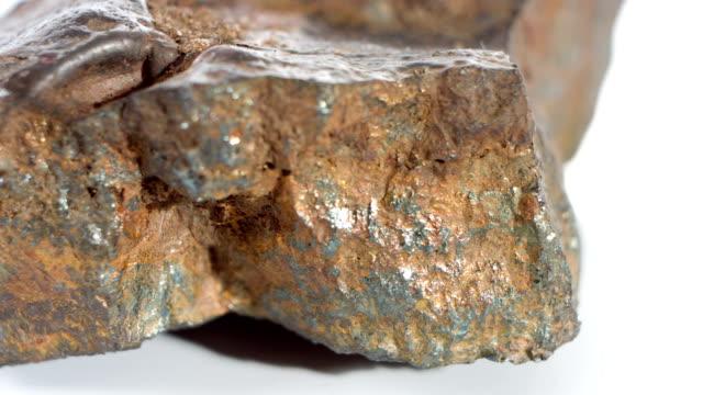 Macro metal meteor video