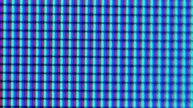 macro pixels computer sceen video