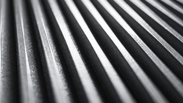 macro video metal box surface - нержавеющая сталь стоковые видео и кадры b-roll