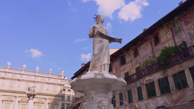 Madonna statue in Verona