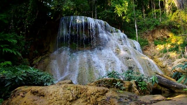 Mae Kae Waterfall Lampang, Thailand video