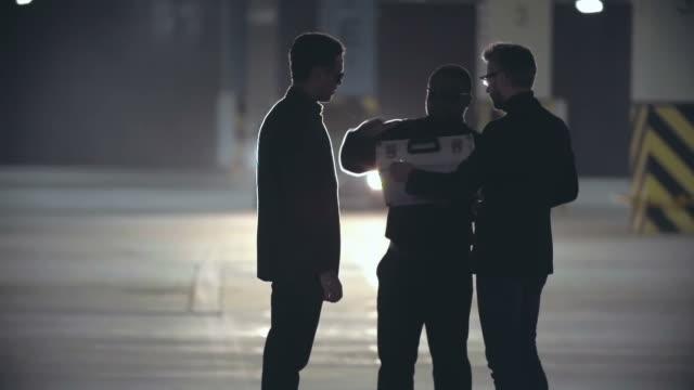 Mafia Men on Secret Meeting video