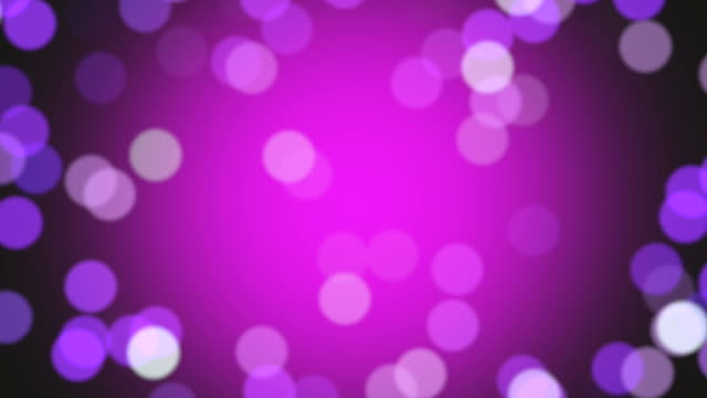 Magenta and pink particles floating in slow motion. Loopable footage. video