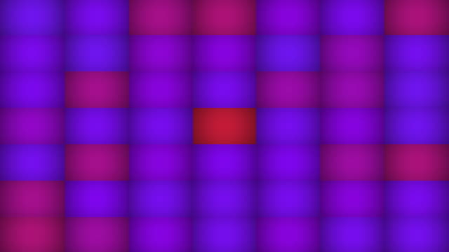 Magenta Blue Abstract Mosaic Tile Background Loop video