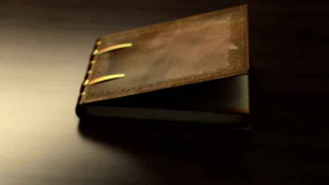Magic book with flipping pages video