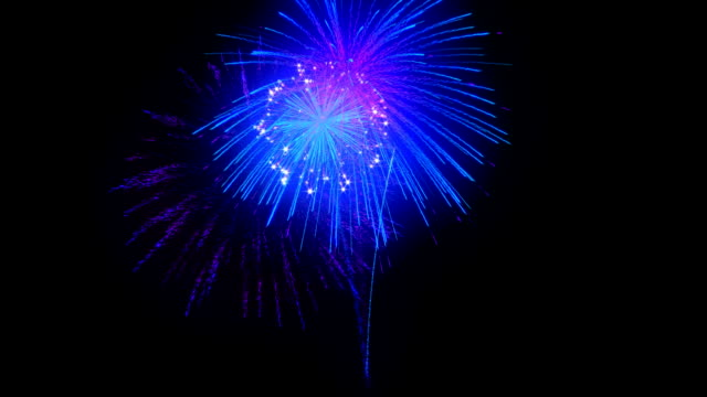Magic bright Fireworks over black. Magic bright Fireworks. You can find other Fireworks animations in my portfolio happy 4th of july videos stock videos & royalty-free footage