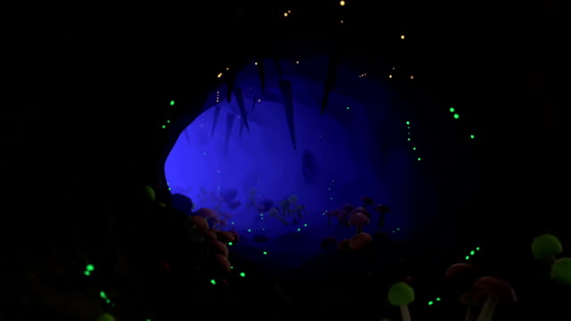 Magic Cave Background