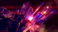 istock Magic crystal emitting a streams of energy. 3d rendering abstract background with a depth of field. 4K, Ultra HD resolution 1249804469