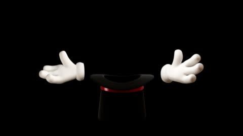 vidéos et rushes de hd: magic hat - chapeau