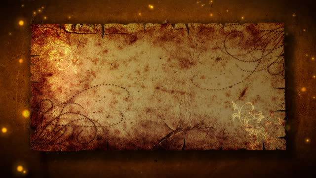 magische scroll eröffnung hd - schriftrolle stock-videos und b-roll-filmmaterial