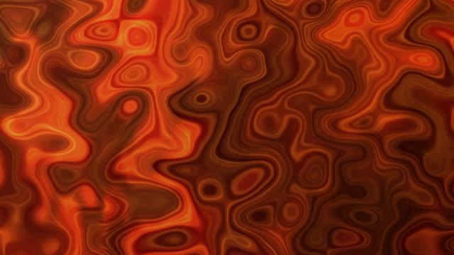 Magma Orange Wavy Background (loopable) Magma Red wavy background heat haze stock videos & royalty-free footage