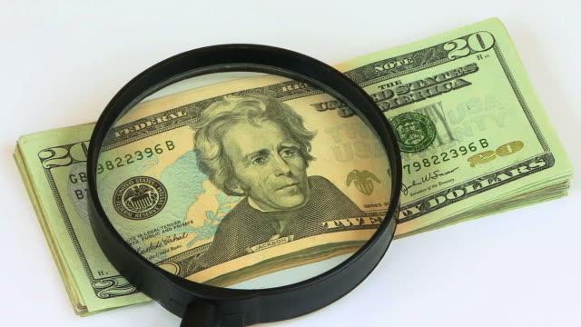 Magnifying Glass & Money HD