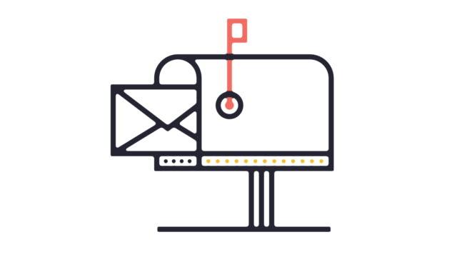 Mailbox Icon Animation