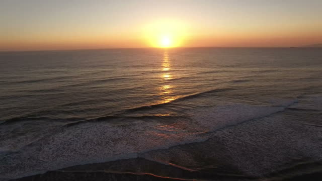 Majestic Sunset Over Ocean Beach San Francisco