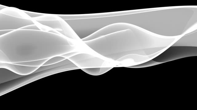 Majestic Waves Loop - Silver Flow (HD) video