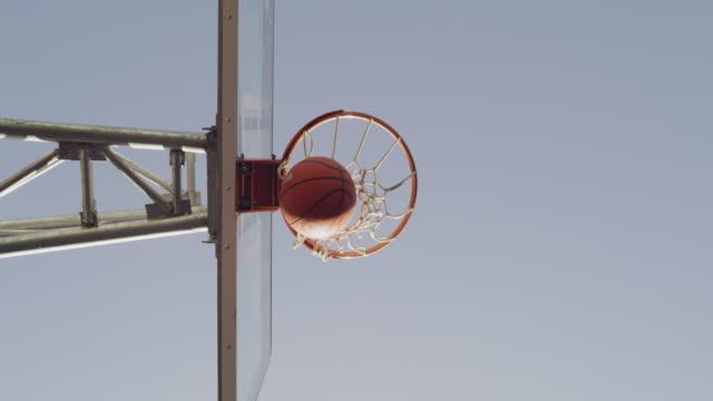 vídeos y material grabado en eventos de stock de haz de cada día tu obra maestra - basketball hoop