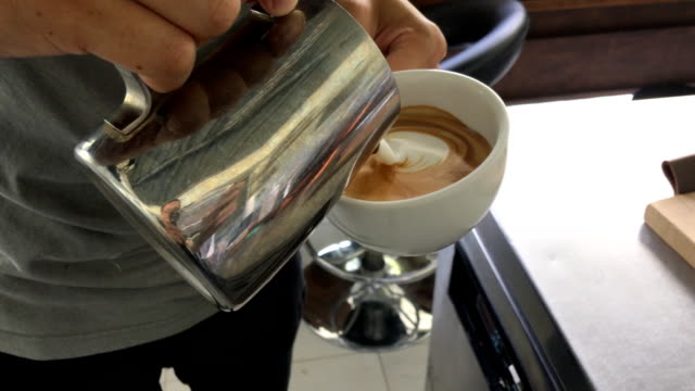 Make Latte Art