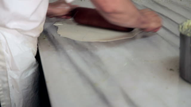 Make sweet pastry dough video
