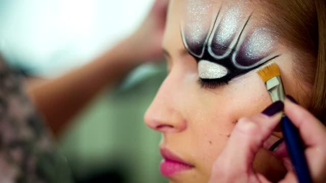 Make up art video