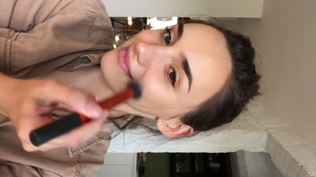 stockvideo's en b-roll-footage met make-up tutorial - youtube