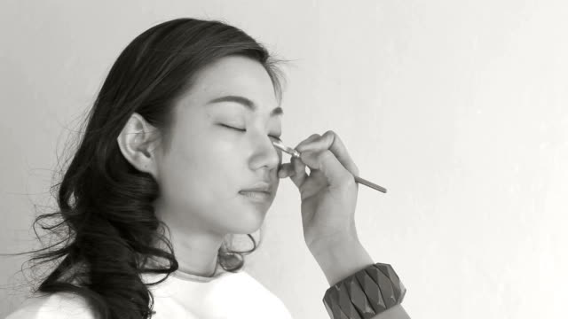 Make-Up Artist Black and white video