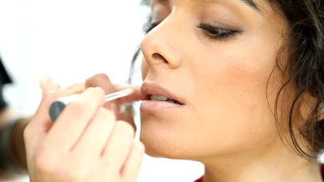 Makeup preparation: lipstick video