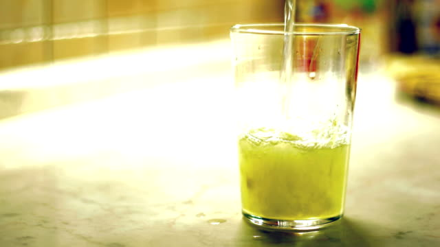 Making a Lemonade at Home video