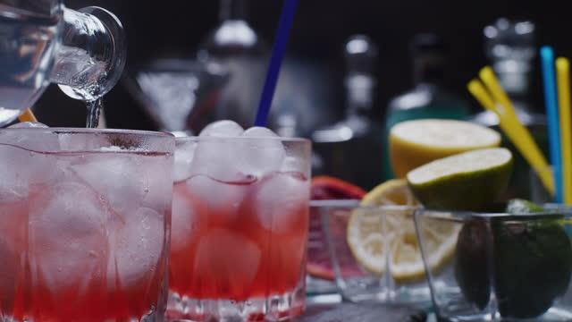 Making blood orange sodas video