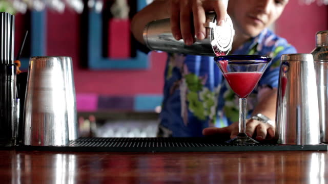 Making cocktail video