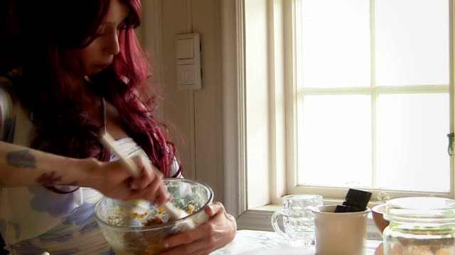 Making Cookie Dough video