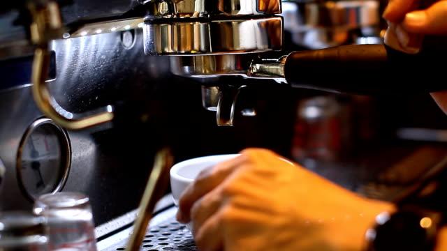 Making Espresso Coffee video