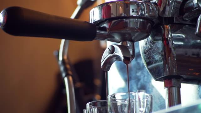 Making espresso video