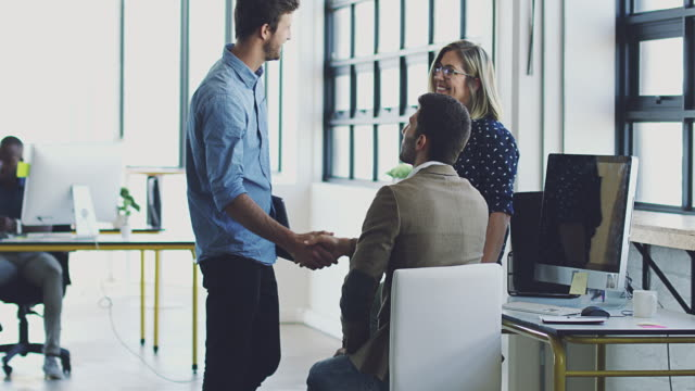 Making new business acquaintances video