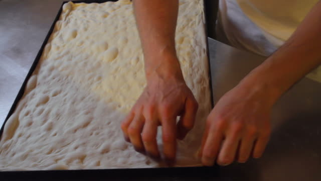 Making of Real Italian Pizza Dough video