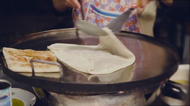 Making Roti. video