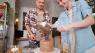 istock Making their favorite chocolate cake 1214574492