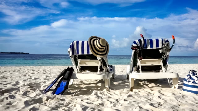 Maldives beach video