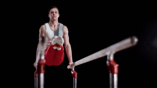 Best Parallel Bars Gymnastics Equipment Stock Videos and