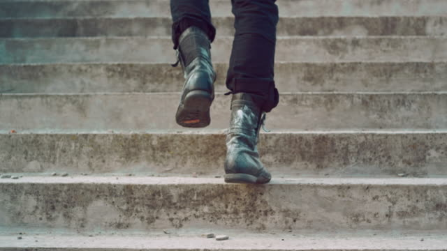 Male legs going up stairs. Man legs going upstairs. Man climbing stairs Male legs going up stairs. Man legs walking up stairs. Man in vintage shoes walking up steps. Man climbing stairs. Man legs going upstairs staircases stock videos & royalty-free footage